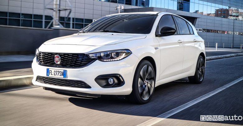 Ecotassa 2019 Fiat Tipo