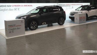 Auto in aeroporto Citroen C5 Aircross Milano Linate
