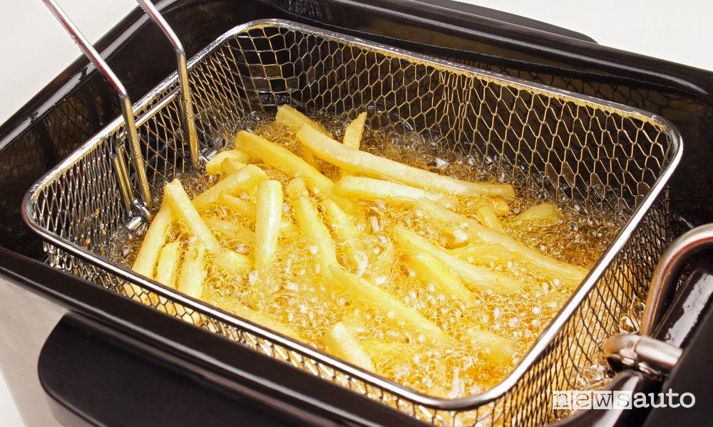 Biodiesel dalla frittura patatine fritte