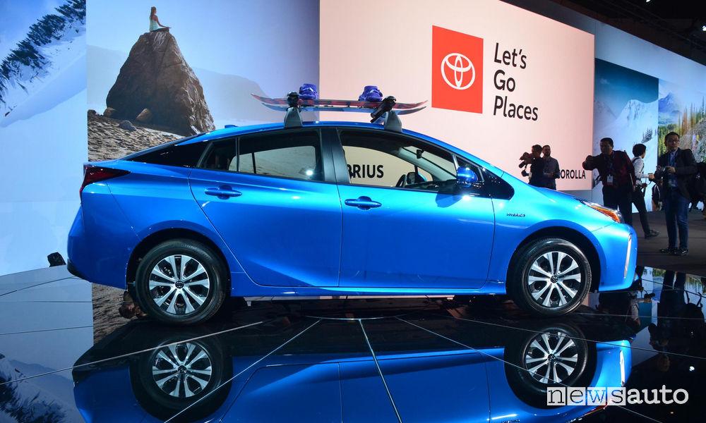 Toyota_Prius 2019 al Salone di Los Angeles 2018