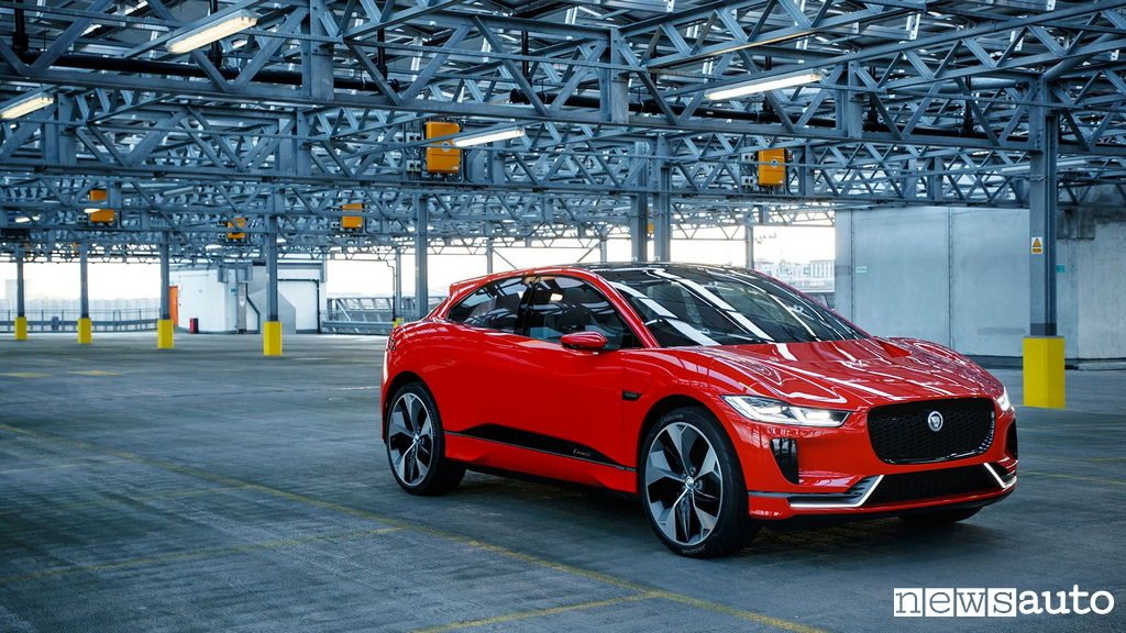10 auto elettriche più vendute in Italia Jaguar iPace