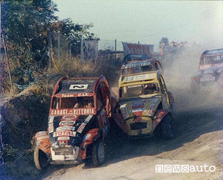 Citroen 2CV Dyane Cross campionato italiano