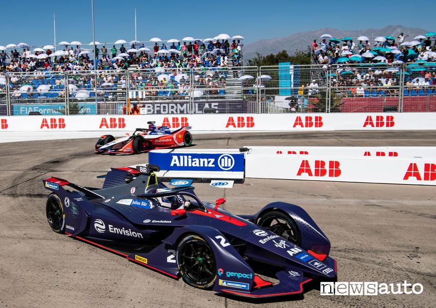Formula E 2019 e-Prix Santiago del Cile, Sam Bird Audi Virgin Racing