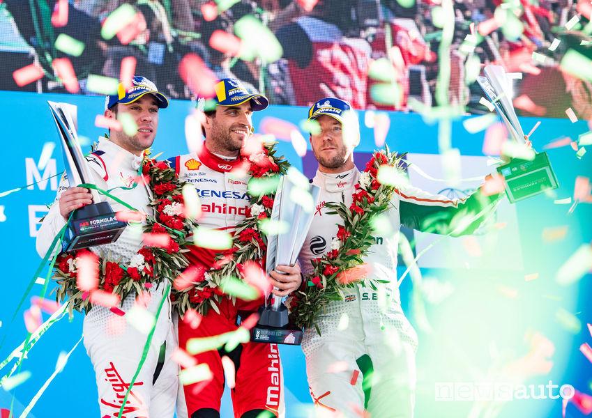 Formula E podio Marocco Marrakesh E-Prix 2019