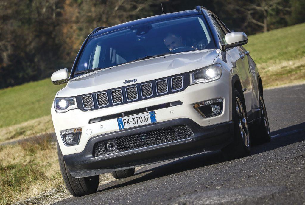 Jeep Compass diesel auto piu venduta in italia
