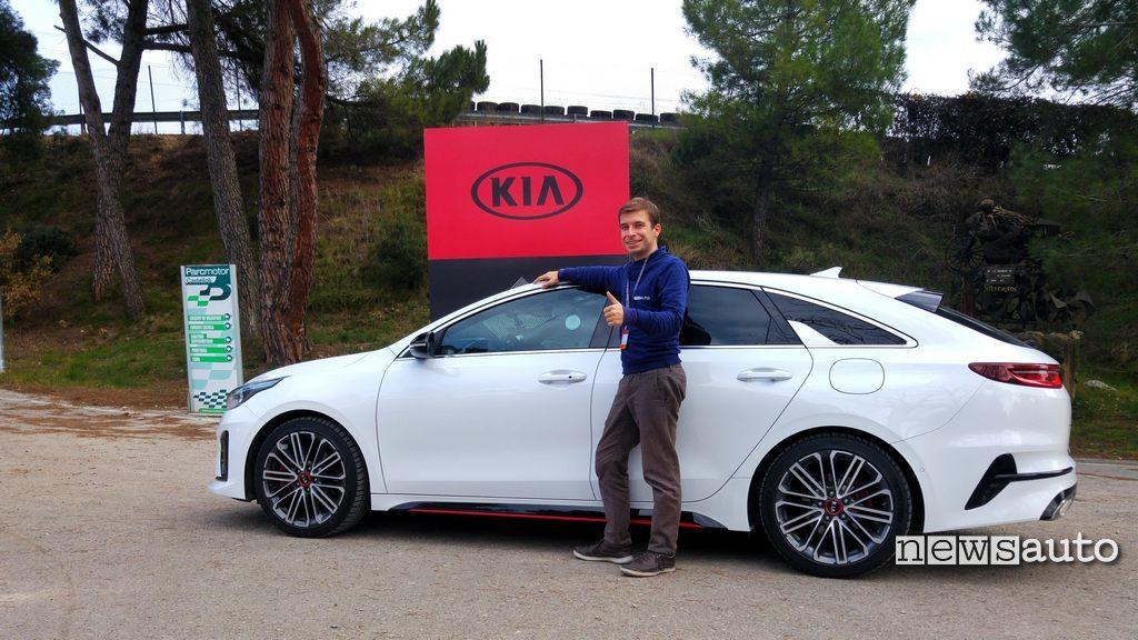 Kia Proceed GT 2019 29 con Marco Paternostro