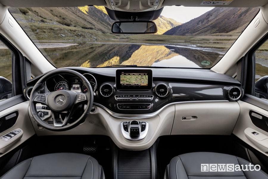 Mercedes-Benz Classe V 2019 Marco Polo, plancia strumenti