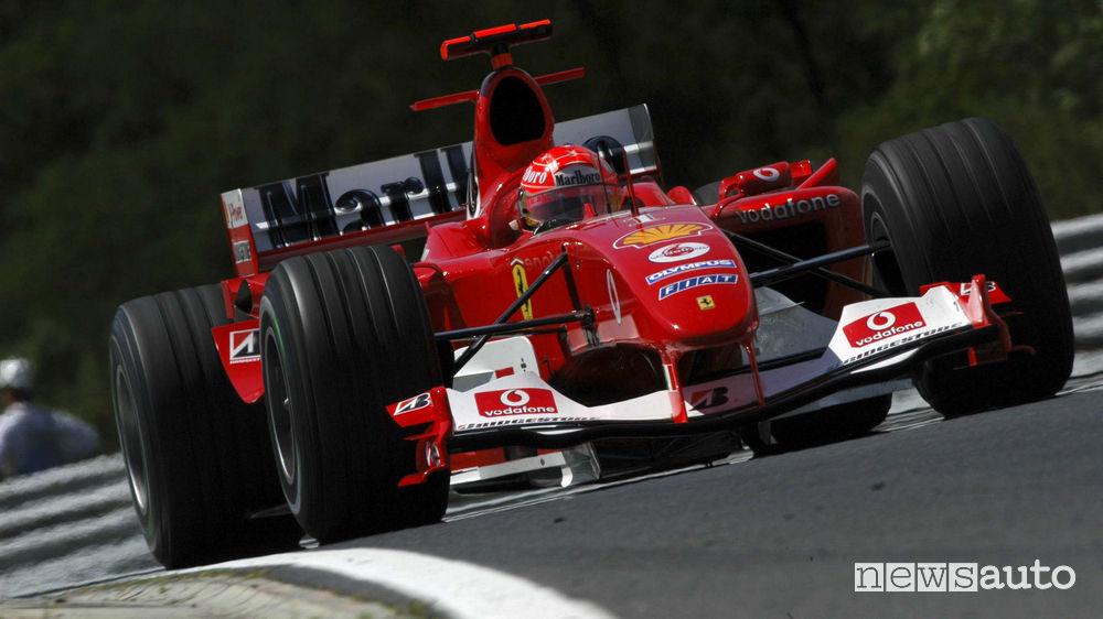 Michael Schumacher Ferrari F2004 2004