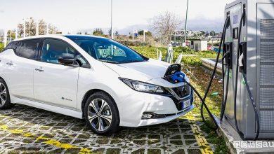 Ricarica veloce auto elettriche, mappa colonnine EVA+