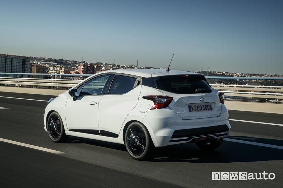 Nissan Micra 2019 N-Sport, vista posteriore