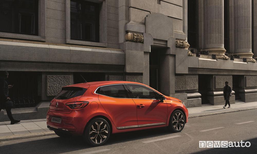 Nuova Renault CLIO, vista laterale