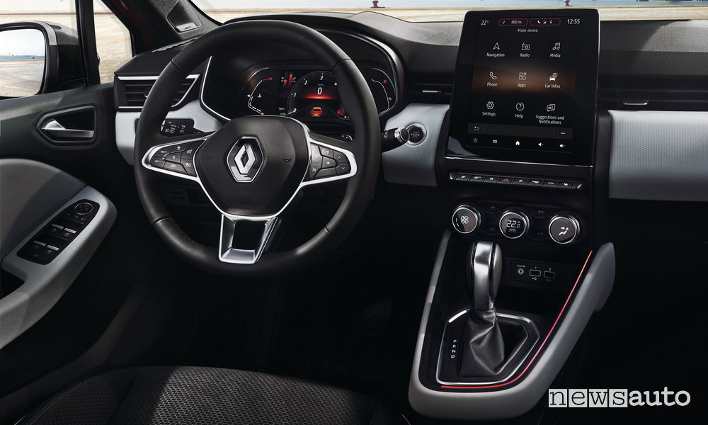 Plancia strumenti Renault Clio 2020