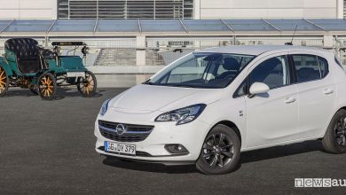 Opel Corsa, serie speciale per i 120 anni