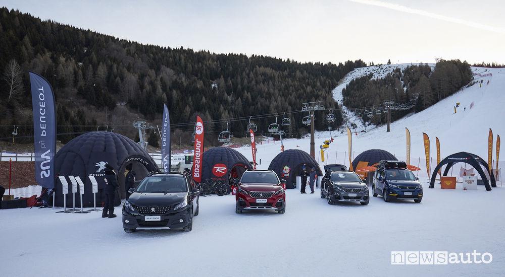 Gamma SUV Peugeot Tour Rossignol 2019