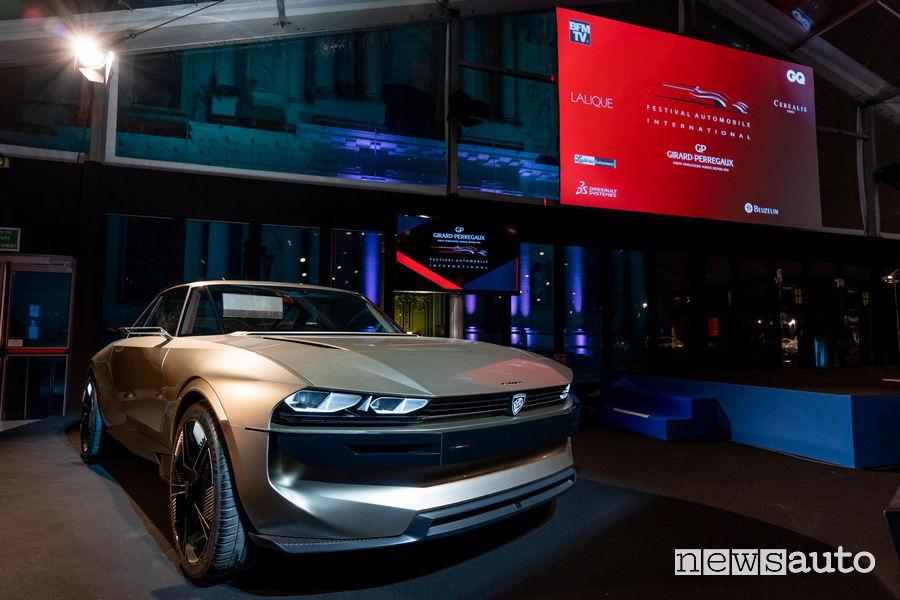Peugeot e-Legend Concept premio più bella Concept car dell'anno