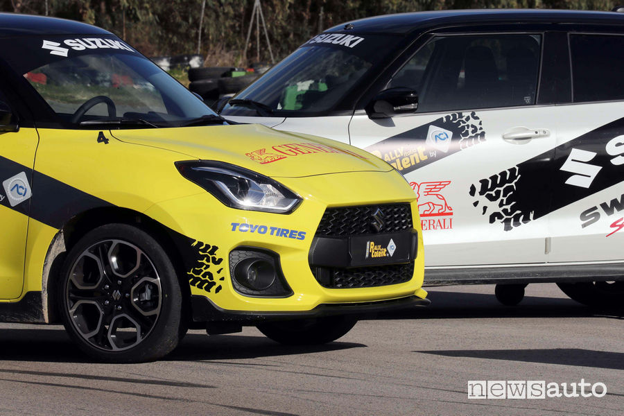 Suzuki Swift Sport auto ufficiale Rally Italia Talent 2019