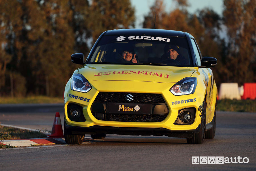 Suzuki Swift Sport Rally Italia Talent 2019 per aspiranti piloti