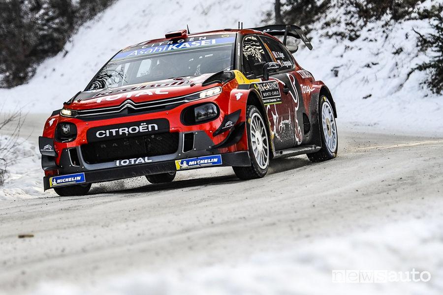 WRC Rally di Montecarlo 2019, Ogier Citroen C3