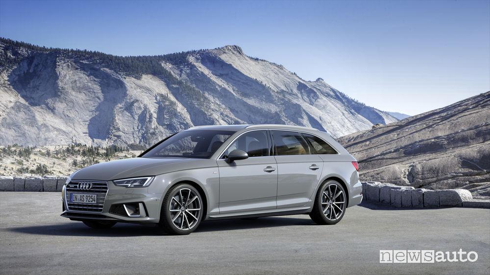 Audi A4 Avant, vista di profilo