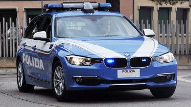 Auto della Polizia BMW