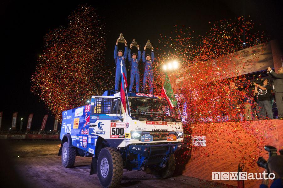 Dakar 2019 camion