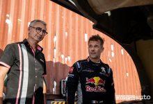 Bernard Piallat e Sebastien Loeb alla Dakar 2019