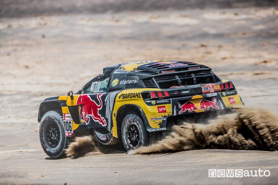 Dakar 2019 Peugeot Sebastien Loeb