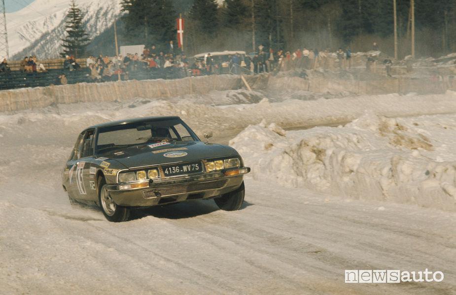 DS Citroen SM Rally del Marocco 1971