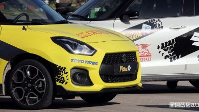 Photo of Suzuki Swift Sport, auto ufficiale Rally Italia Talent 2019