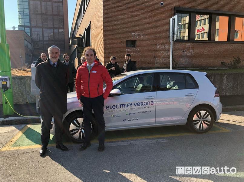 Electrify Verona, Massimo Nordio e Stefano Sordelli Volkswagen Group