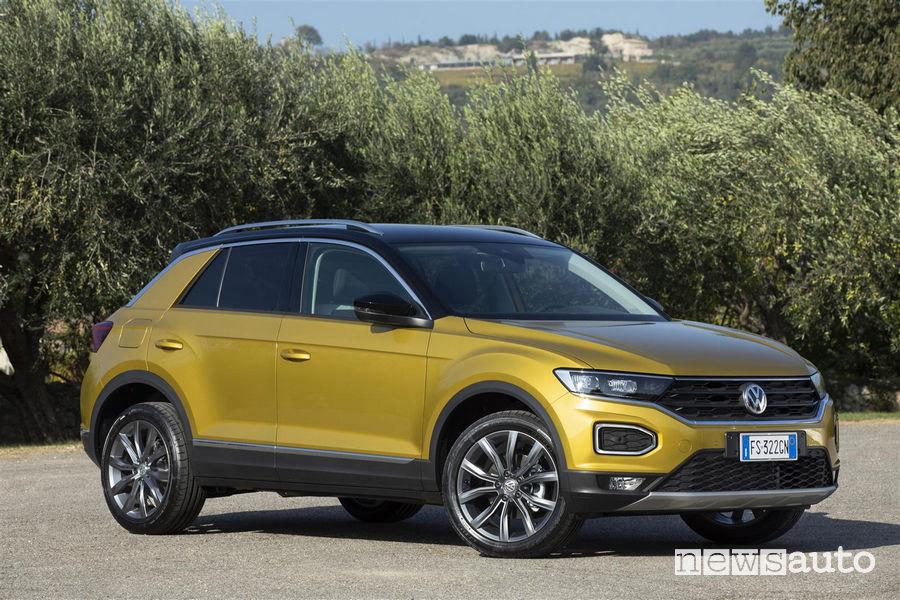 10 SUV più venduti in Italia nel 2018 VW T-Roc