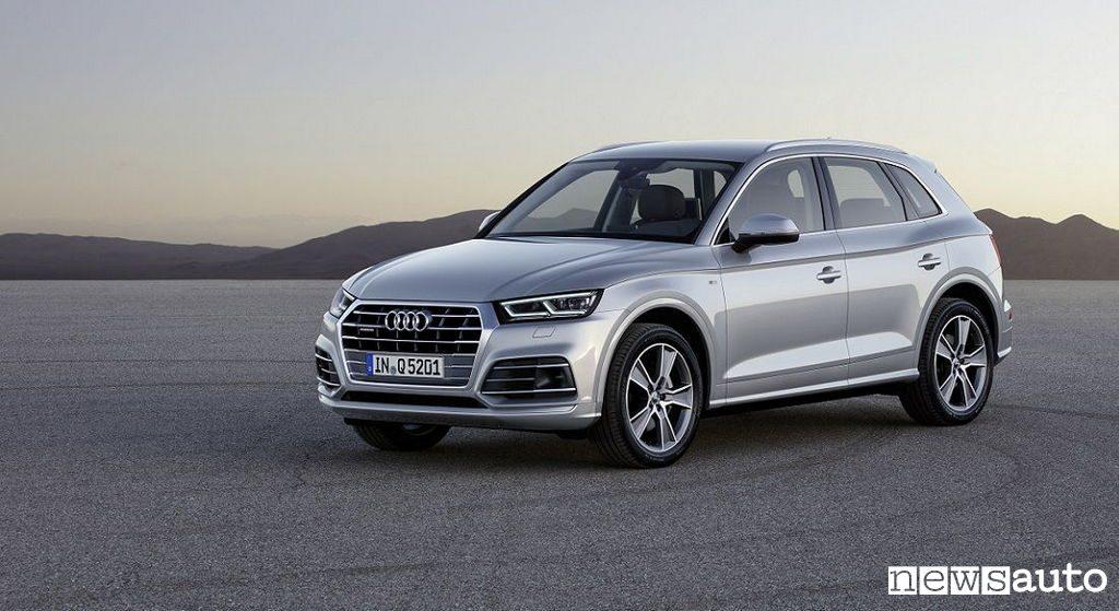 10 SUV più venduti in Italia nel 2018 Audi Q5