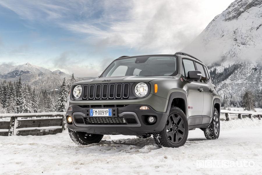 10 SUV più venduti in Italia nel 2018 Jeep Renegade