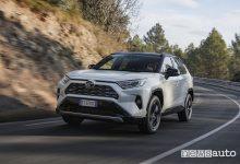 Nuova Toyota Rav4 2019, vista di profilo