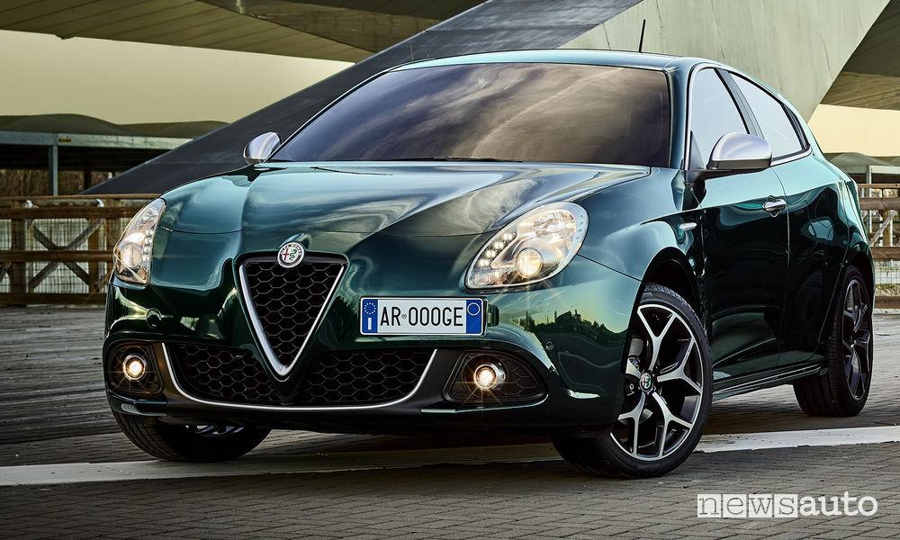 Alfa Romeo Giulietta Super, vista di profilo