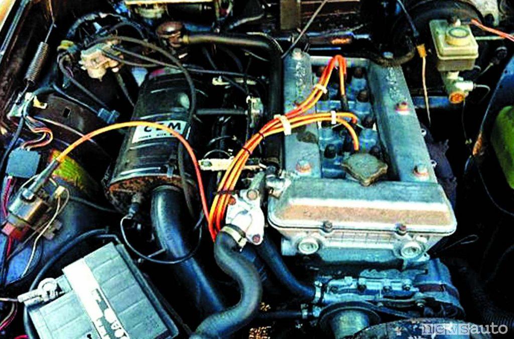 Motore Alfa Romeo Alfetta con disattivazione di 2 cilindri