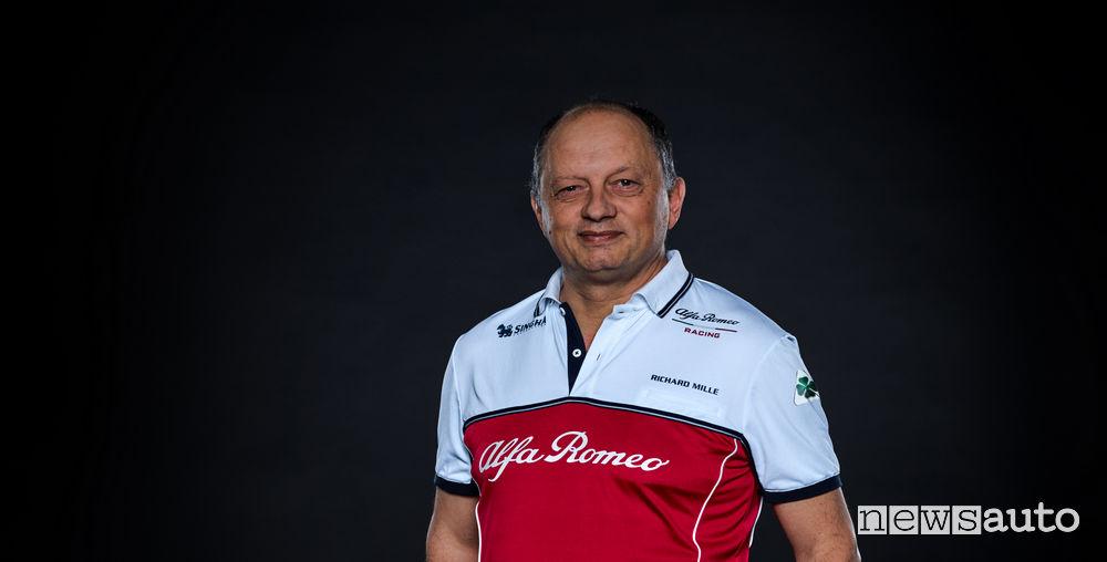 Alfa Romeo Racing F1 2019, Frederic Vasseur