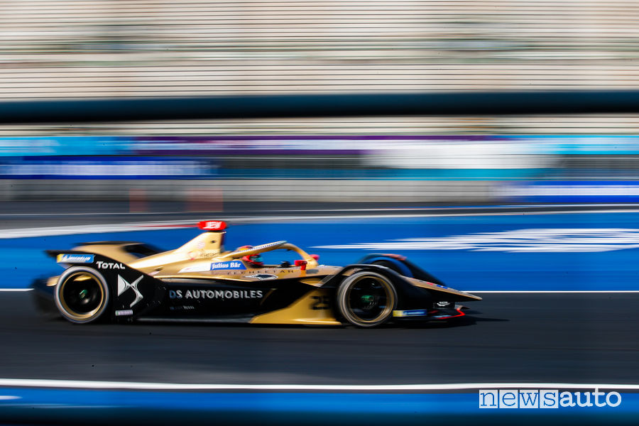 orari eprix messico Formula E 2020, Vergne DS Techeetah