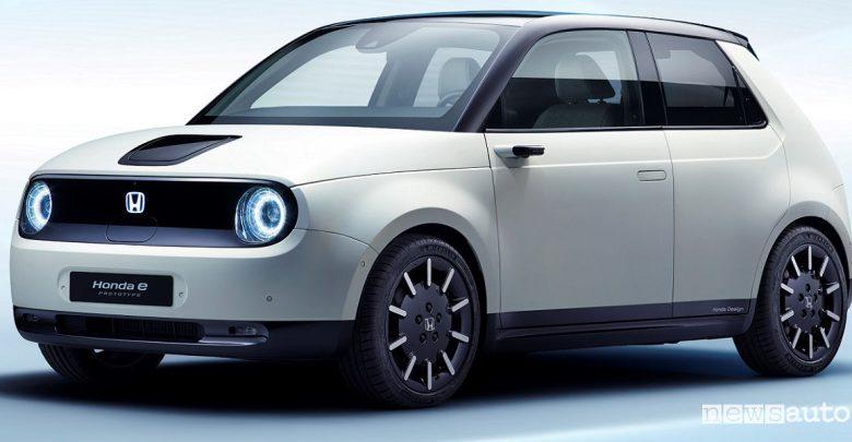 auto elettrica Honda e-Prototype Ginevra 2019