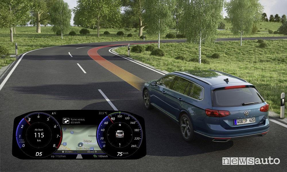 Nuova Volkswagen Passat Variant, Lane Assist ADAS