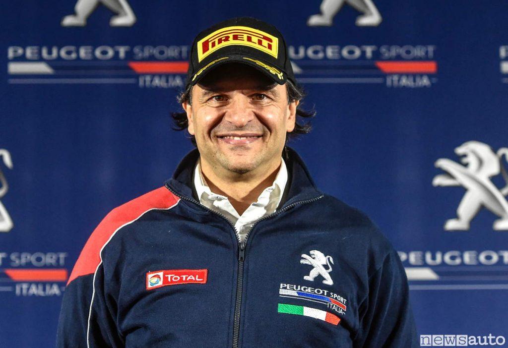 Paolo Andreucci pilota, ambassadort e tutor Peugeot 2019