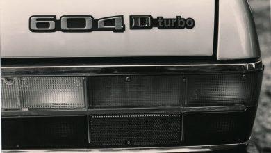 Peugeot 604 D turbo, logo portellone posteriore