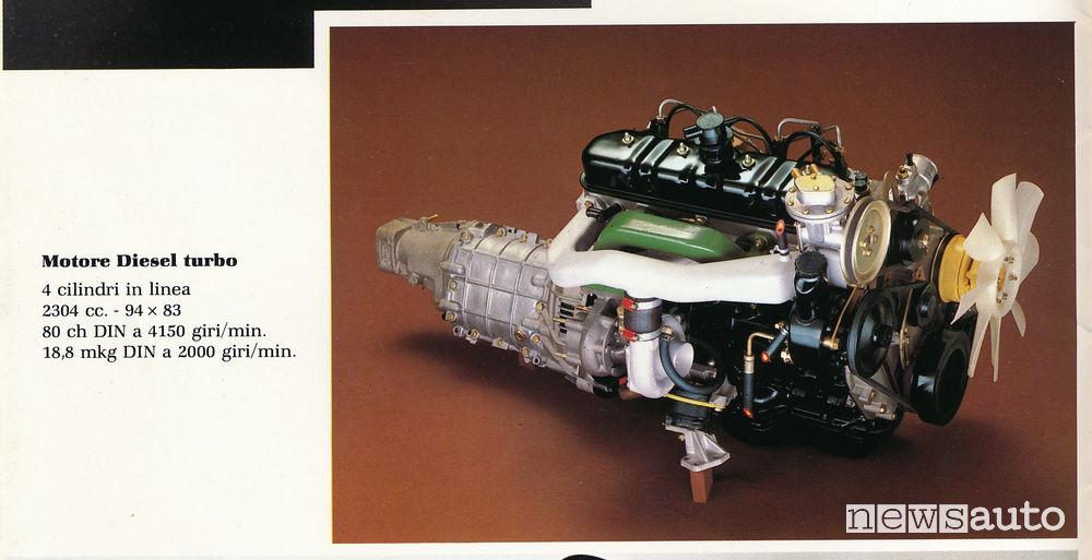 Motore diesel turbo Peugeot 604