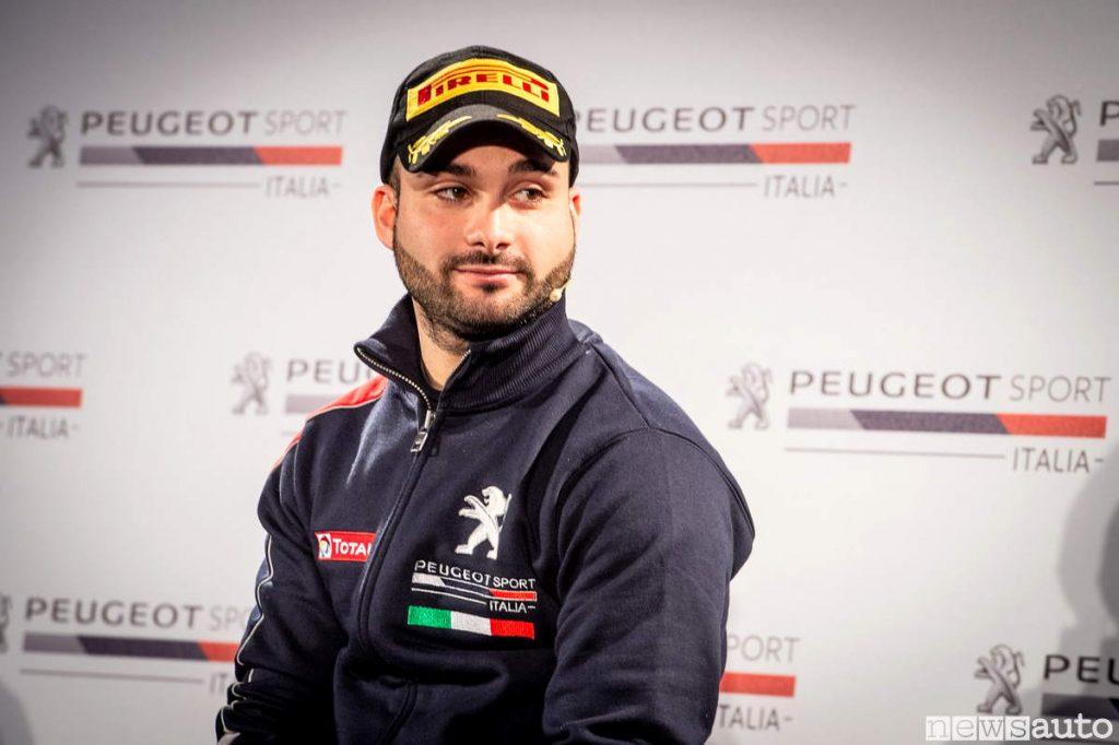 Tommaso Ciuffi pilota ufficiale Peugeot Sport Italia 2019 Cir Rally