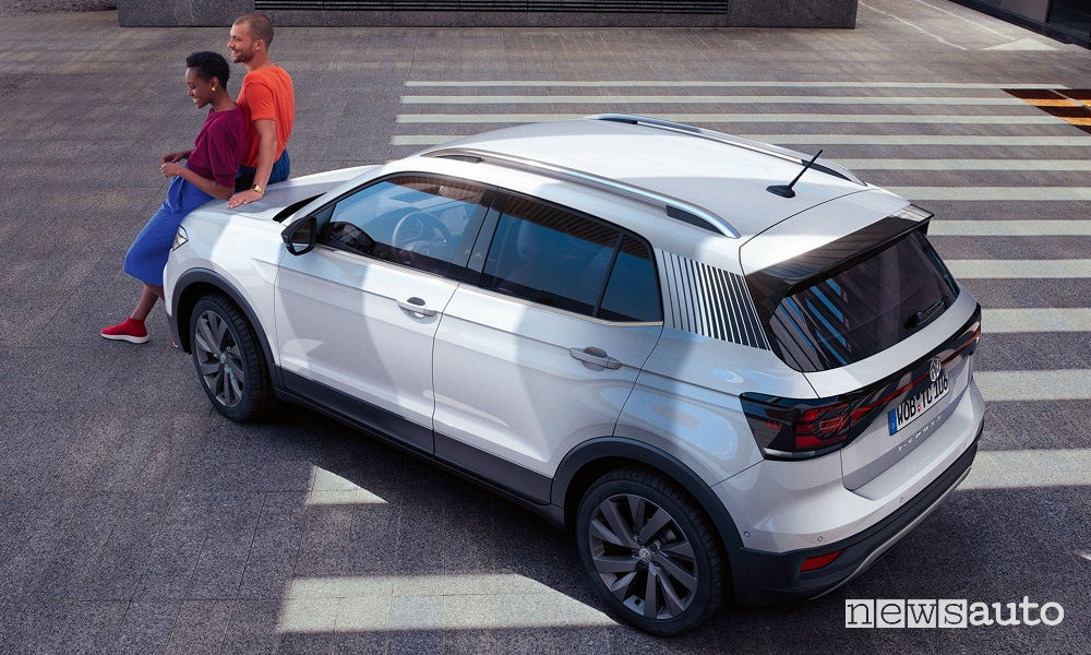 Volkswagen T-Cross First Edition, vista dall'alto