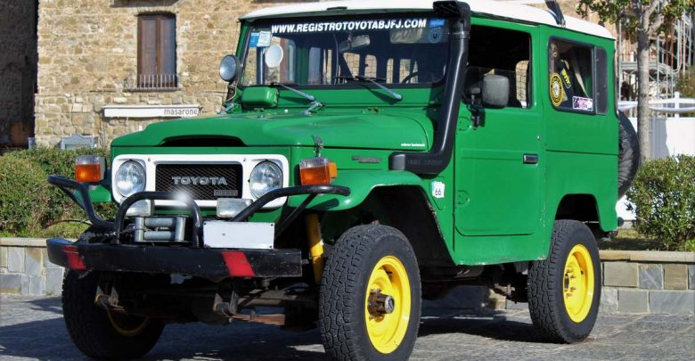 Toyota Land Cruiser Bj40 Fuoristrada storico