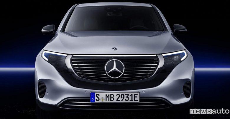 Mercedes Ginevra 2019 Concept EQV