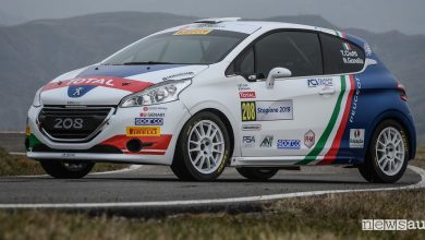 Peugeot 208 R2 rally, scheda tecnica