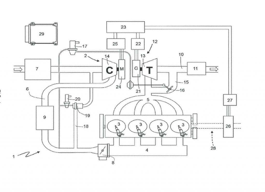 schema brevetto turbo ferrari
