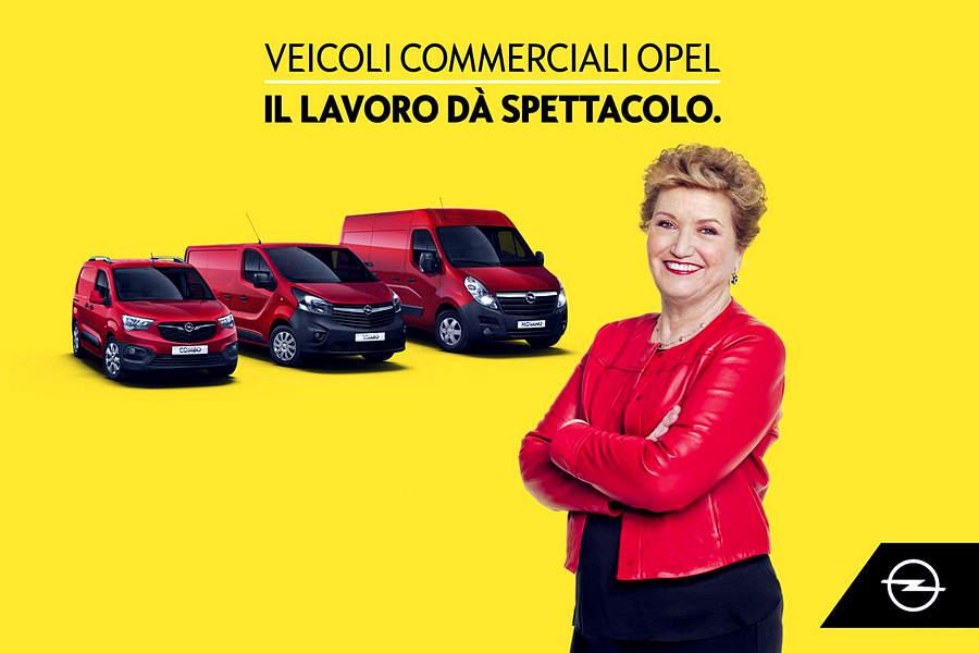 Banner ADV Mara Maionchi_Veicoli Commerciali Opel_2